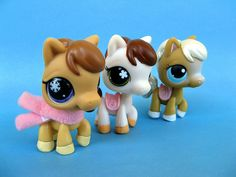 LPS Ponies by frankcheez, via Flickr. ohh there so cute~lexi