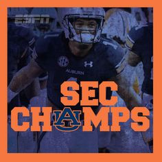 2013 SEC Champions: the Auburn Tigers!
