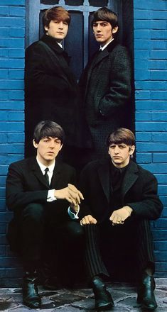 The Beatles. This poster was on my bedroom door during the 60's.