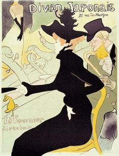 Toulouse-Lautrec & Moulin Rouge-Our inspiration for the Garland Living Room.  Ritchie recreated four of Toulouse's paintings.