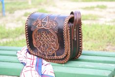 Leather bags and another leather products! Total custom, hand carved and tooled! For sale! www.etsy.com/shop/schwanzchen