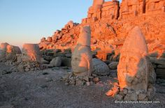 It's worth doing a road trip in Turkey to see the famous heads at Mount Nemrut.