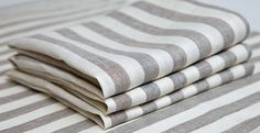Eco  Linen towels. Set of 3. by IdeasForHome on Etsy, $24.00