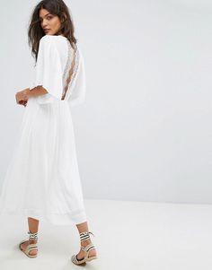Suncoo Charlotte Lace Back Dress