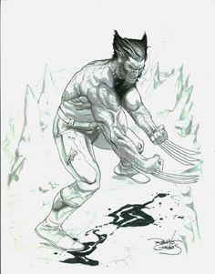 lobezno-RENATO GUEDES  Comic Art