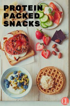 Here are 15 simple, protein-rich snack combos to provide satisfaction and fuel as soon as hunger strikes. | Cooking Light