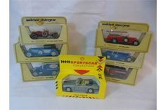 6 Matchbox Models of Yesteryear + 1