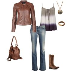 Mary Louise Parker inspired, created by julez194 on Polyvore