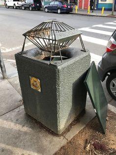 Urban Design Observations, San Francisco Edition: Bizarre Public Trash Can - Core77