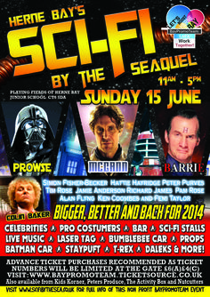 Sci-fi by The SeaQuel, Sunday 15th June 2014