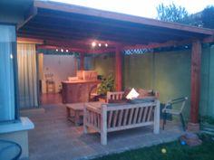 PERGOLAS Y QUINCHOS Backyard Kitchen, Backyard Patio, Blessed Mother, Patio Design, Bbq, Outdoor Structures, Outdoor Decor, Home Decor, Gardens