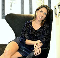 Mellina Machado usa conjunto brinco e anel Dolamita