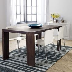 blox 35x63 dining table | CB2