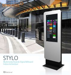 STYLO by PARTTEAM & OEMKIOSKS. Interactive kiosk and digital billboard. Indoor and Outdoor. Soon with new datasheet ! See more at www.oemkiosks.com