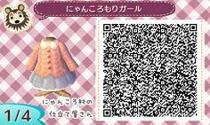 Animal Crossing new leaf QR codes • Posts Tagged 'dresses'