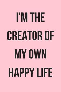 You can attract happy and positive feelings, That\'s how the Law of Attraction works! Happy thoughts, finding happiness again, choosing happiness, how to think positive, positive mind, positivity project #happiness #happy #positivity #behappy Words to live by - quotes positive  // pretty words // inspirational word // bossbabe motivation // #bossbabe #quotes #pink #wordoftheday #inspirationalquotes