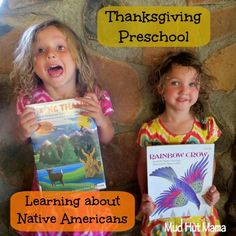 Thanksgiving Activities for Preschoolers - Learning about Native Americans - Mud Hut Mama