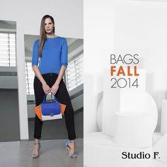 Un #LookStudioF que destaca la comodidad de un outfit en tendencia color block con toques sport. #Bags Encuéntranos en el centro comercial Multiplaza Escazú nivel 2 local 141 , San José, Costa Rica