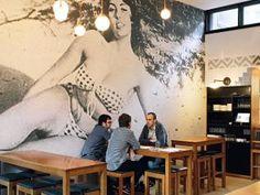 Mamasita Melbourne Restaurants, Melbourne Cbd, Cafe Style, Creative Walls, Bakeries, Coffee Shops, Cafe Restaurant, Tex Mex, Sunrise