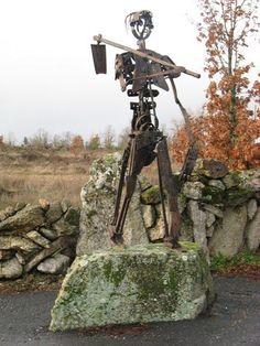Sculpture Iron Outdoor by Kim Prisu # Art # Artist at Betsy Frank Gallery
