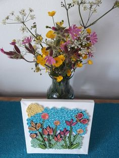 How you can bring freshness in your home Quilling Art, Spring Flowers, Glass Vase, Canning, Paper, Ideas, Home Decor, Decoration Home, Room Decor