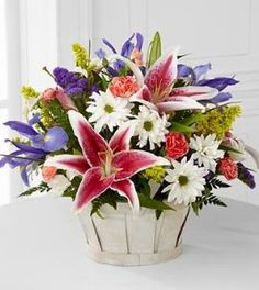 Birthday gift:FTD Flowers Wondrous Nature Bouquet - 12 Stems