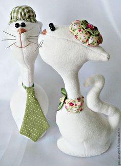 Купить Мадам и месье Верде. - зелёный, подарок девушке, подарок на свадьбу, подарок на 8 марта