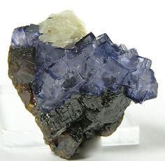 Elmwood Fluorite Barite Sphalerite by FenderMinerals, via Flickr