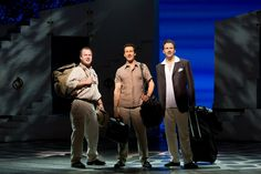 """I've got three possible dad: Sam, Bill, or Harry!"" MAMMA MIA! Broadway 2012"