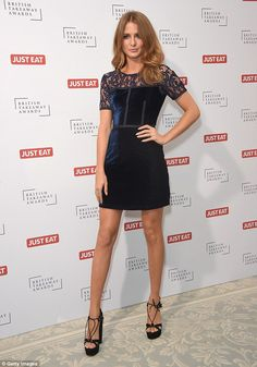 Millie Mackintosh at the British Takeaway Awards, held at London's Savoy Hotel on November 9, 2015