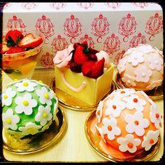 マドモアゼルC 春ケーキ