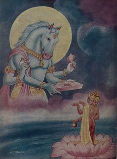 HiNDU GOD: Lord Hayagreeva