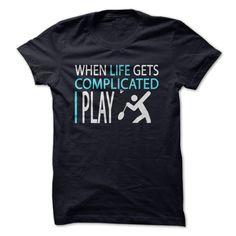 I Play Badminton T-Shirt