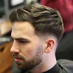 Thick Textured Hair + Low Fade
