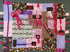 Hey, I found this really awesome Etsy listing at https://www.etsy.com/listing/539674461/fidget-quiltfancy-fidget-quilt-busy
