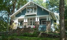 craftsman bungalow house - Google Search