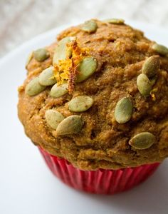 I need to do something with the pounds of pumpkin I roasted this weekend! Pumpkin muffins, anyone? Vegan Treats, Vegan Foods, Vegan Snacks, Vegan Desserts, Vegan Recipes, Cake Recipes, Cooking Recipes, Vegan Pumpkin, Pumpkin Recipes