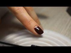 Half Moon Manicure - YouTube