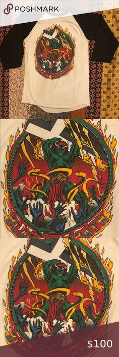 Black Sabbath Heaven And Hell 1980 black t shirt 100/% cotton sizes S-5XL DIO