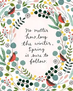 It's Lettering Day on my Insta feed! This dainty gal by Flora Waycott . Lilla Rogers, Watercolor Paper Texture, Winter Quotes, Winter Sayings, Hand Lettering Quotes, Typography Prints, Illustrations, Illustration Art, Pretty Words