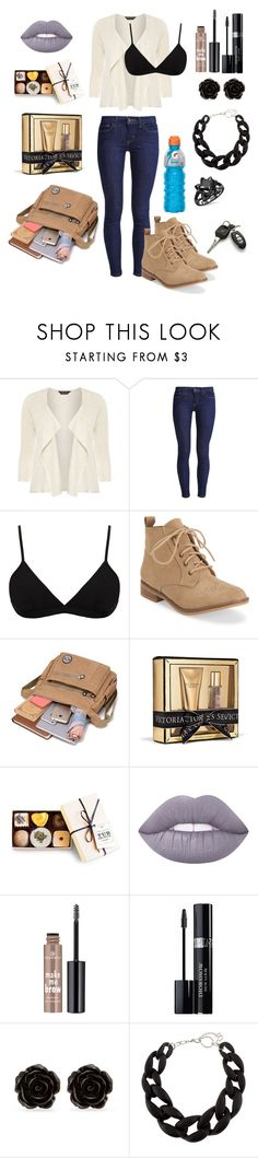 """""""Boca Raton """" by breeyvonne ❤ liked on Polyvore featuring Dorothy Perkins, Levi's, Helmut Lang, Aéropostale, Victoria's Secret, Lime Crime, Essence, Christian Dior, Erica Lyons and DIANA BROUSSARD"""