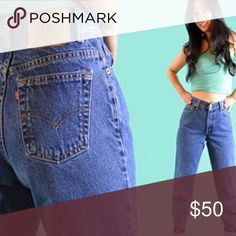 High Waisted Levi's High Waisted Levi Mom jeans. Super great high quality denim.Since these are a vintage pair of jeans they may have slight imperfections but all are in great condition. Additionally tags may have been removed but all sizing is accurate and will be true to size :) Urban Outfitters Jeans