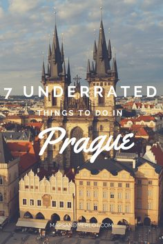 Underrated things to do in Prague - discover Prague's best kept secrets!