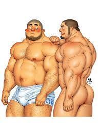 Resultado de imagen para como dibujar hombres musculosos anime