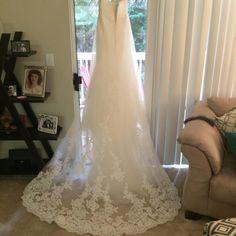 Pronovias Finisterre, $400 Size: 10   Used Wedding Dresses
