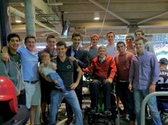 Great group at the Nats game on Sept 20, 2012, organized by Taylor Price '04.
