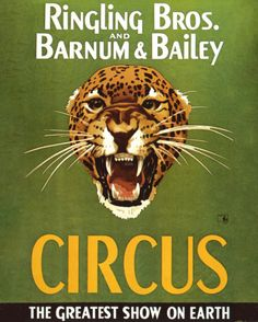 Barnum And Bailey Circus Premium Giclee Print by The Vintage Collection - AllPosters.co.uk