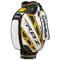 TaylorMade Golf Men's RBZ Stage 2 Staff Bag White/Black/Yellow