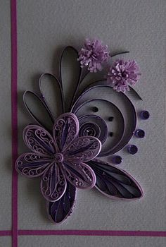 Neli is a talented quilling artist from Bulgaria. Her unique quilling cards bring joy to people around the world. Origami And Quilling, Neli Quilling, Quilled Paper Art, Quilling Paper Craft, Quilling Flowers, Diy Flowers, Paper Flowers, Paper Crafts, Diy Crafts