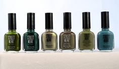 Revlon Streetwear-Toad (ver.2), Forest, Mystical, Burnt (ver.2), Drab and Moody (ver.1)